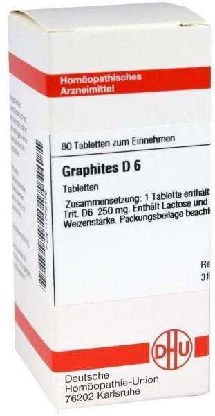 Graphites D6 80 Tabletten