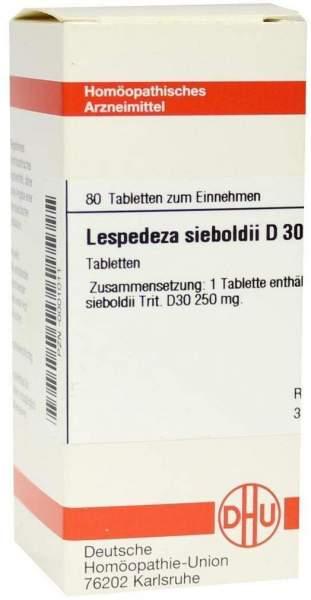 Lespedeza Sieboldii D 30 Tabletten