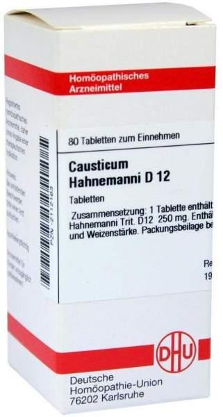Causticum Hahnemanni D12 80 Tabletten