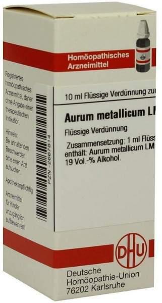 Lm Aurum Metallicum Xviii