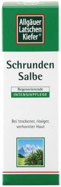 Allgäuer Latschenkiefer Schrundensalbe 90 ml Salbe