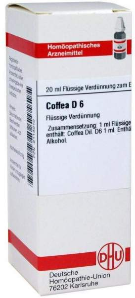 Dhu Coffea D6 20 ml Dilution