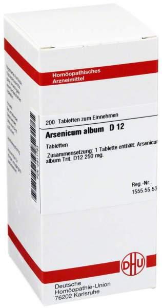 Arsenicum Album D12 200 Tabletten