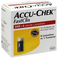 Accu Chek Fastclix 204 Lanzetten