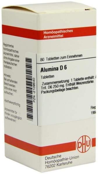 Alumina D6 80 Tabletten