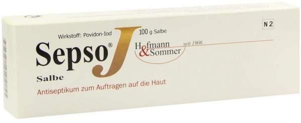 Sepso J Salbe Antiseptikum 100 G