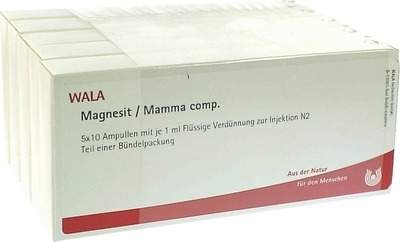 Magnesit Mamma Comp. Ampullen 50 X 1 ml