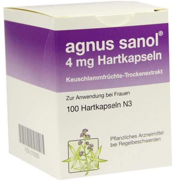 Agnus Sanol 4 mg Hartkapseln 100 Hartkapseln