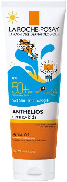 La Roche Posay Anthelios Dermo Kids LSF 50+ Wet Skin 250 ml Gel