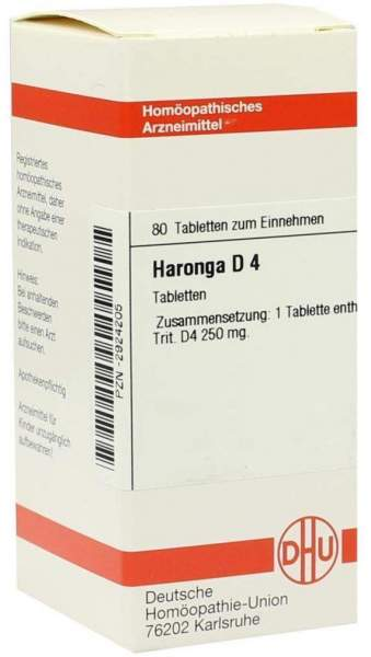 Haronga D 4 Tabletten 80 Tabletten
