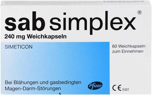 Sab Simplex 240 mg 60 Weichkapseln