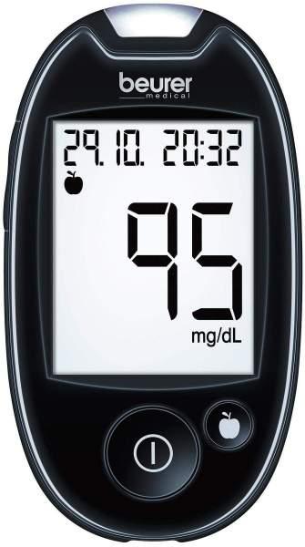 beurer Blutzuckermessgerät GL44 mg je dl