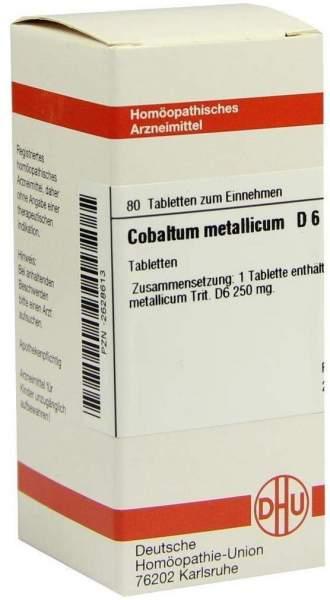 Cobaltum Metallicum D 6 Tabletten