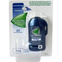 Nicorette Freshmint 2 mg 20 Lutschtabletten