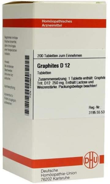 Graphites D12 200 Tabletten
