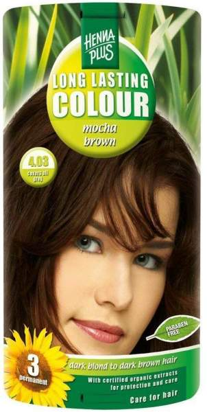 Hennaplus Long Lasting Colour Farbe Mocha-Brown 4.03 100 ml