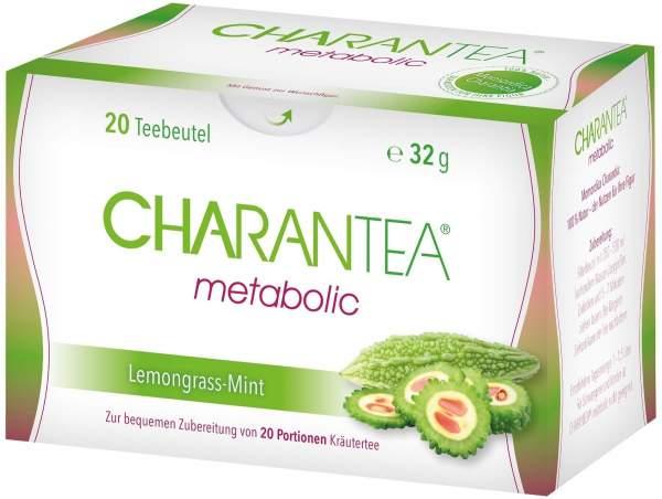 CHARANTEA metabolic Lemongrass-Mint 20 Filterbeutel