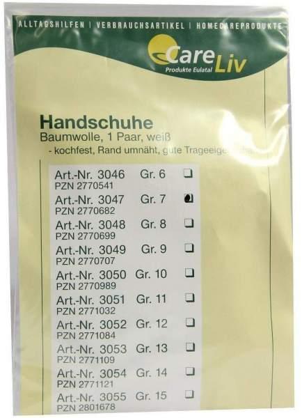 Handschuhe Baumwolle Gr.7 1 Paar