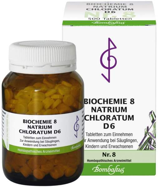 Biochemie Nr.8 Natrium chloratum D6 500 Tabletten