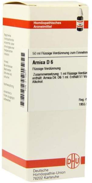 Arnica D6 50 ml Dilution