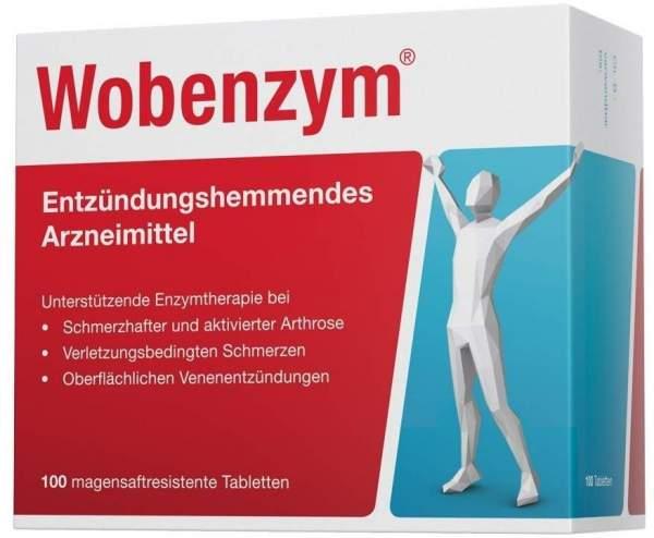 Wobenzym 100 magensaftresistente Tabletten