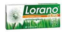 Lorano akut Antiallergikum 20 Tabletten