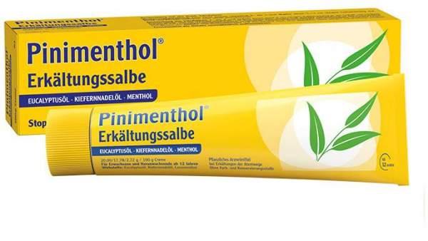 Pinimenthol Erkältungssalbe 100 g