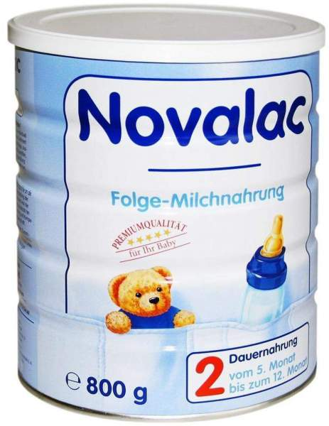 Novalac 2 Standard Folge-Milch 6-12 M