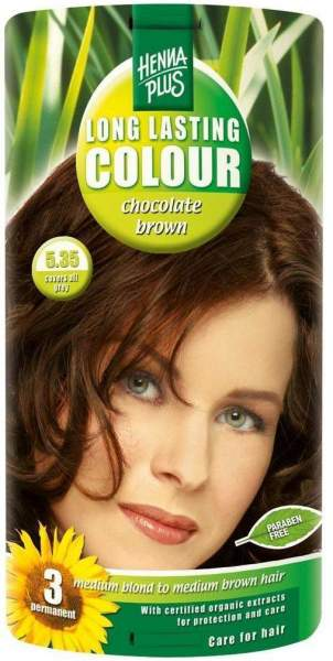 Hennaplus Long Lasting Colour Chocolate Brown 5.35 100 ml