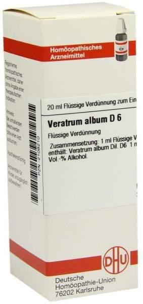 Dhu Veratrum Album D6 20 ml Dilution