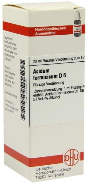 Acidum Formicicum D6 20 ml Dilution