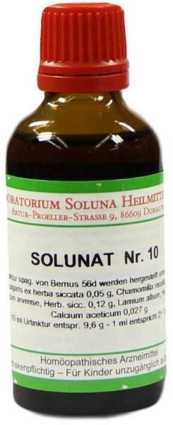 Solunat Nr.10 50 ml Tropfen
