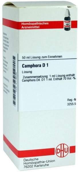 Camphora Urtinktur 50 ml Dilution
