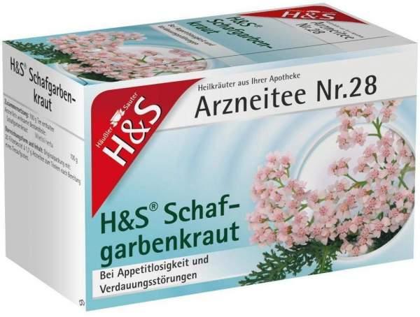 H&S Schafgarbentee 20 Filterbeutel