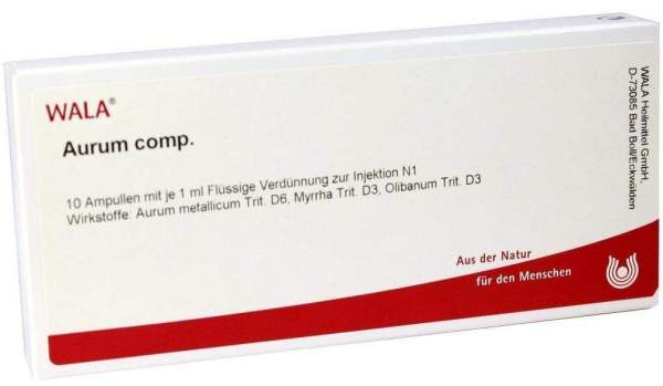 Aurum Comp. Ampullen 50 X 1 ml