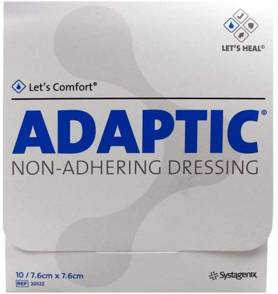 Adaptic 7,6 X 7,6 cm 10 Feuchte Wundauflagen