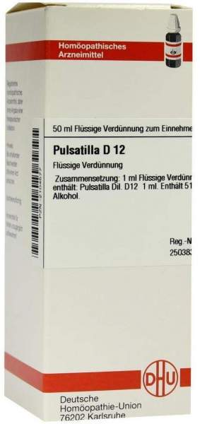 Pulsatilla D 12 50 ml Dilution
