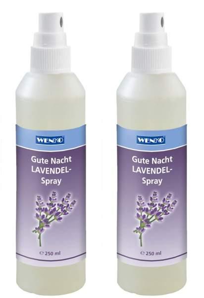 Lavendel Gute Nacht Spray Set 2 x 250 ml