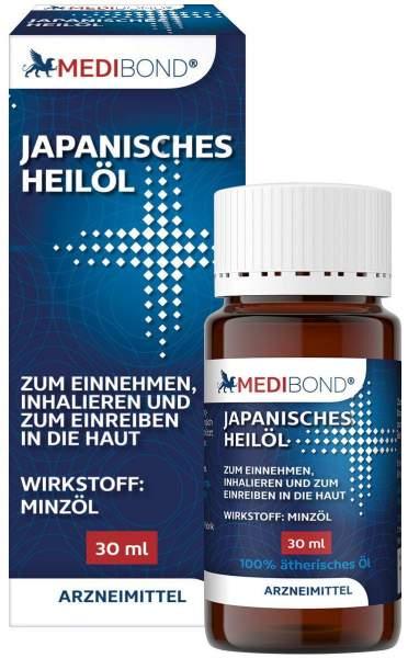 Japanisches Heilpflanzenöl Medibond 30 ml