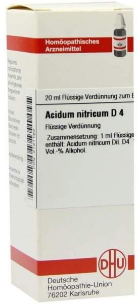Acidum Nitricum D 4 20 ml Dilution