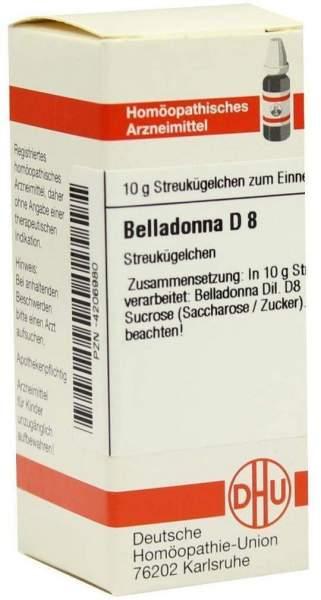 Dhu Belladonna D8 Globuli