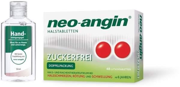 Neo angin Halstabletten zfr.48 LT + gratis Handreinigungsgel 50ml