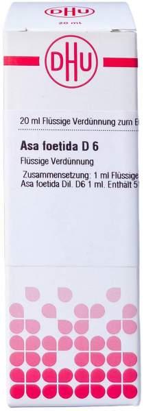 Asa foetida D 6 Dilution