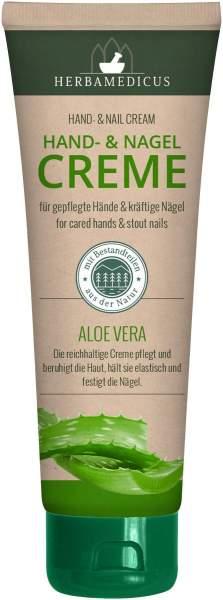 Herbamedicus Hand- und Nagelcreme mit Aloe Vera 125 ml