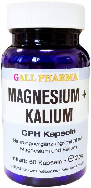 Magnesium + Kalium Gph 60 Kapseln