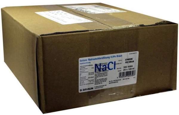 Kochsalzlösung Isotone Natriumchloridlösung 0,9% 20 X 100 Ml...