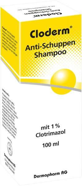 Cloderm Antischuppenshampoo 100 ml