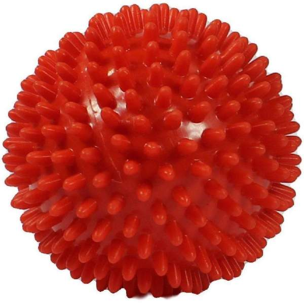 Igelball 9cm Rot