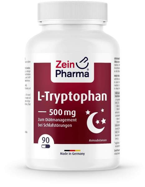 L Tryptophan 500 mg 90 Kapseln