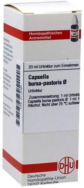 Dhu Capsella Bursa Pastoris Urtinktur 20 ml Dilution